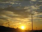 せとうち交流館から見た夕空